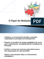 O Papel Do Mediador