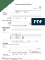Formulir PT Bapertarum 2011