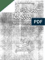 @Van Den Berg - Het Onderste Kakebeen - Een Metabletische Les