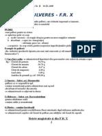 Forme Farmaceutice Solide Curs II