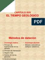 El tiempo geológico E HISTORIA GEOLOGICA