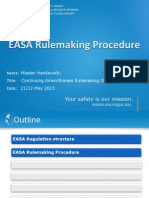 EASA Regulation Structure