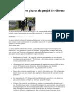 les 12 mesures phares du projet de rforme des retraites 1