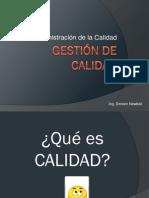 GESTIÓN DE LA CALIDAD