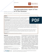 Middle-preserving pancreatectomy