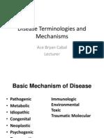 Disease Terminologies 001