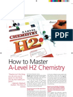 How to Master a-Level H2 Chemistry