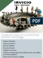 Servicio en las Ciencias Sociales
