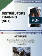 new distributors training ndt