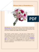 Buchete de Mireasa Unice La Flowers4you.ro