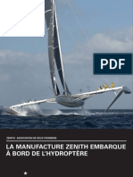 Manufacture Zenith - Hydroptère
