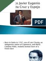 Francisco Javier Eugenio de Santa Cruz y Espejo