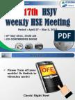 117th HSJV Weekly Meeting Rev 12