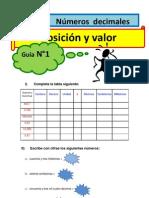 guías+web+6°+2012+Números+decimales