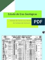 Estudo de Eras Geológicas