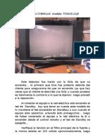 Reparacion de TV  CYBERLUX.doc