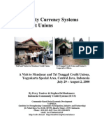 Community Currency System and Credit Union