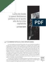 Claudia Cinatti, Lucha de clases y política en la crisis