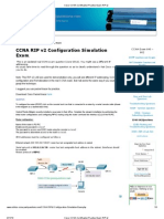 Cisco CCNA Certification Practise Exam_ RIP v2