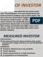 Types of Investorsrisks