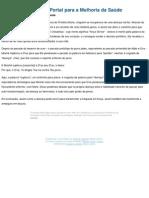 (Parte 26 - Doen347a O Portal Para a Melhoria Da Sa372de - Tor341 e Estudo)