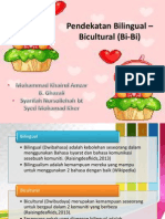 Bilingual Dan Bicultural ; Deaf (Dwibahasa & Dwibudaya)