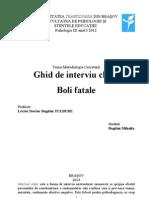 Ghid de Interviu Clinic