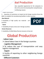 Unit 4 Global Production