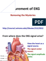 Measurement of EKG