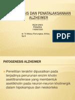 Patogenesis Dan Penatalaksanaan Alzheimer