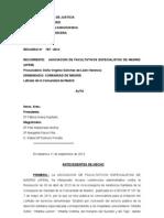 787.2013 Auto Resolviendo Medidas Cautelares Sanidad (1)