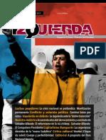 Revista Izquierda N° 37 septiembre de 2013