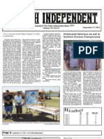 Faith Independent, September 11, 2013