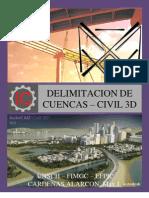 Delimitacion de Cuencas -Civil3d