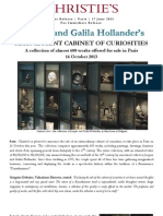Christie's Paris Presents The Collection Of Jacques And Galila Hollnader, 16 October 2013