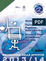 Libretto Corsi 2013/14 Auser UniPop Cremona