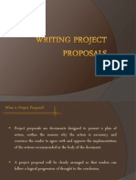 Writing Project Proposals