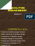 2.1 Facilities Management