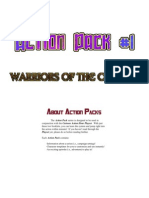 Cartoon Action Hour - Action Pack 1 - Warriors of the Cosmos