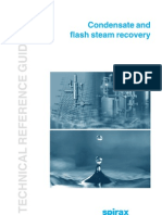 Condensate and Flash Steam Recovery