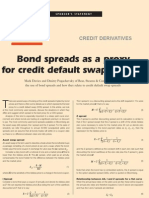 Pugachevsky - Bond to CDS Spreads
