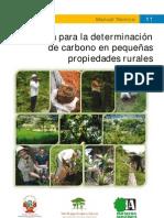 Gua Para La Determinacin de Carbono en Pequeas Propiedades Rurales Doc