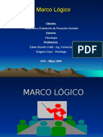 Marco lógico 2009