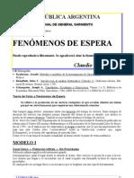 FENÓMENOS DE ESPERA