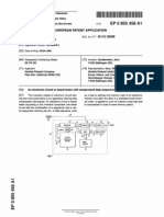 European Patent Application