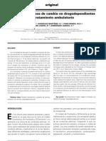 estadíos y procesos de cambio en adicciones