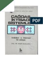 Beşir Hamitoğulları (1982) Çağdaş İktisadi Sistemler. Strüktürel ve Doktrinal Bir Yaklaşım
