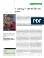 Dog Therapy Dementia