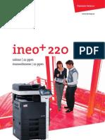 Ineo 220 - Brochure - Eng - Fin