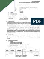 Silabo de Electronica y Electricidad - Secc.1